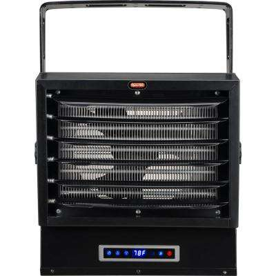 10,000-Watt Dual Heat Electric Garage Heater with Remote