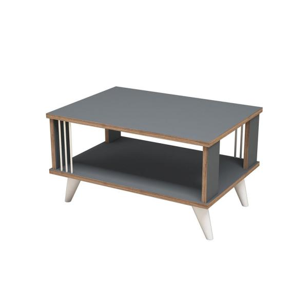 Ada Home Decor Salem Anthracite Modern Coffee Table MNRC3011