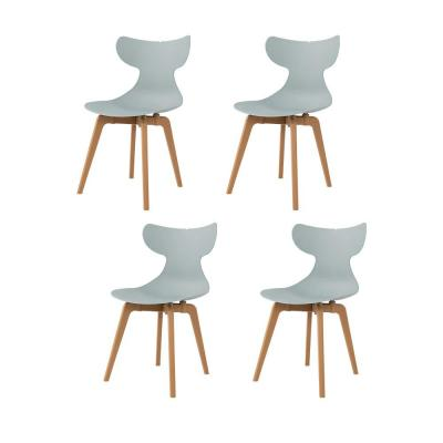 Whale Leisure Mint Dining Chair (Set of 4)