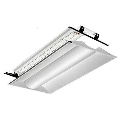 White led lithonia lighting troffers commercial lighting 2 ft x 4 ft white led architectural troffer relight kit mozeypictures Image collections