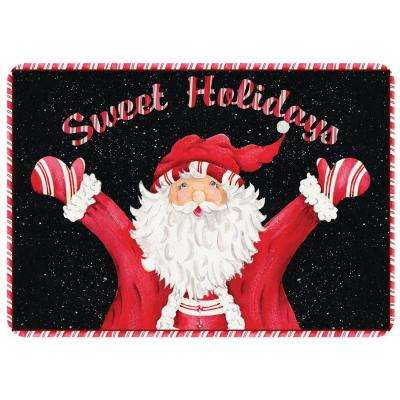 Sweet Holidays 22 in. x 31 in. Polyester Surface Mat