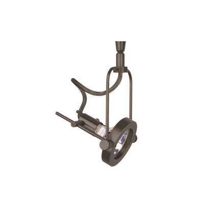 Apex Swivel 1-Light Bronze Track Lighting