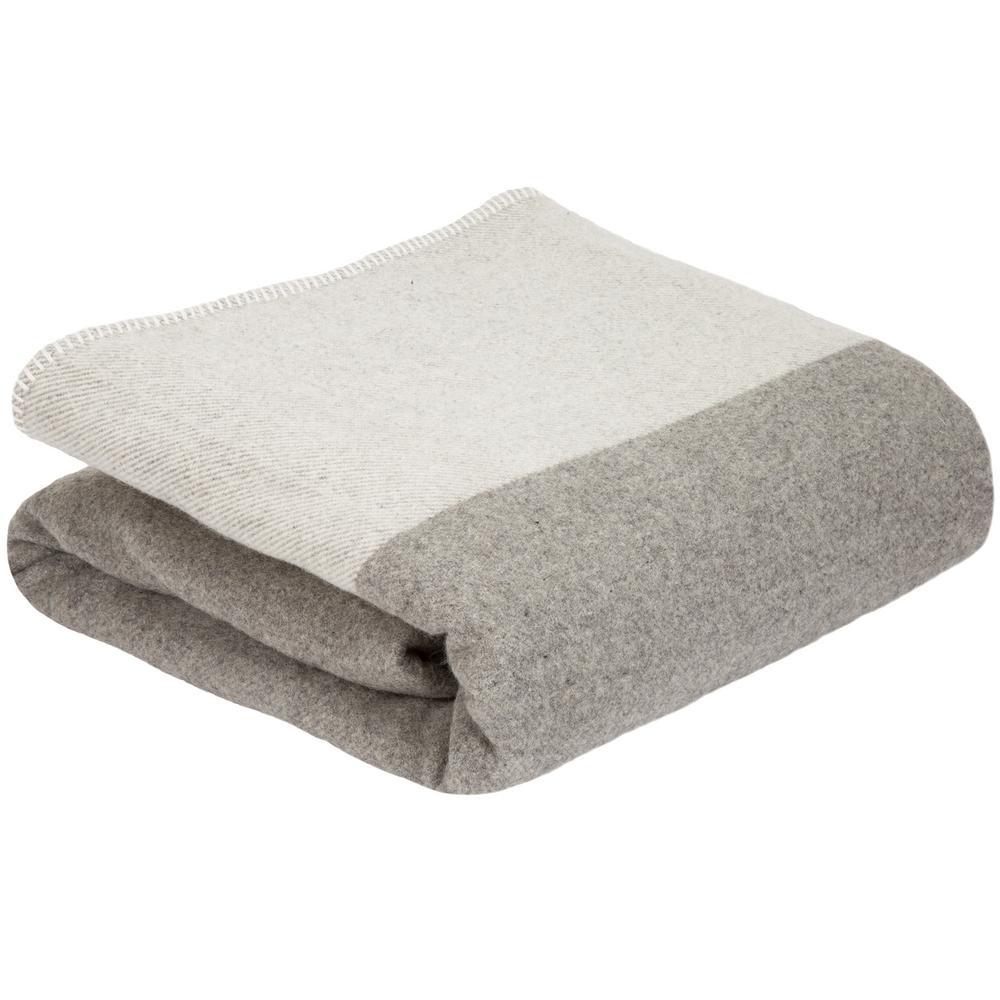 Platinum (White) 100% Australian Wool Full/Queen Blanket
