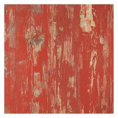 Timeline Wood 11/32 in. x 5.5 in. x 47.5 in. Tomato Peel  Wood Panels (6-Pack)