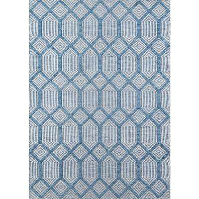 Langdon Cambridge Blue 8 ft. 6 in. X 11 ft. 6 in. Area Rug
