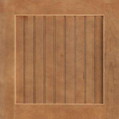 14-9/16x14-1/2 in. Shorebrook Maple Cabinet Door Sample in Spice
