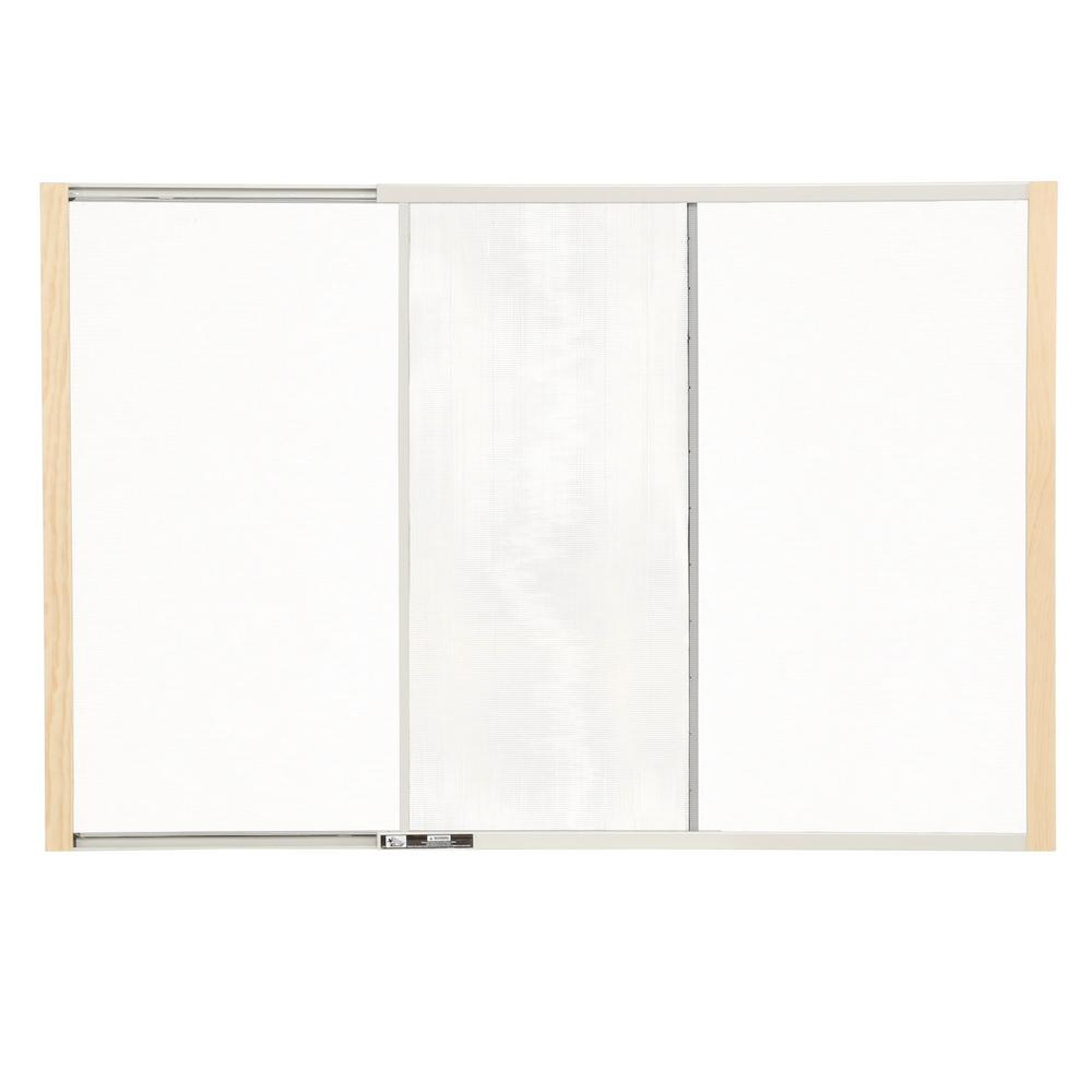 Adjustable Window Screen Sliding Frame Wood Bug Insect
