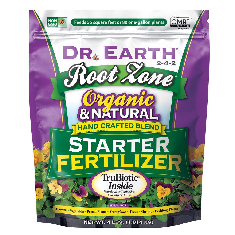 Root Zone 4 lbs. 55 sq. ft. Organic Starter Fertilizer