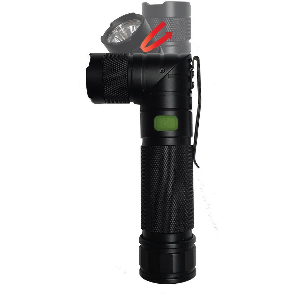 Twist 3AAA Pivoting LED Tactical Flashlight in a Giftbox