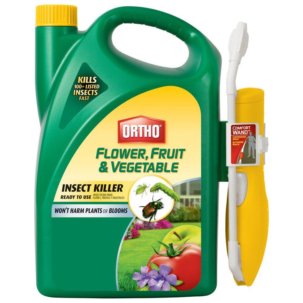 Flower, Fruit and Vegetable 1 Gal. Ready-To-Use Insect Killer with Wand