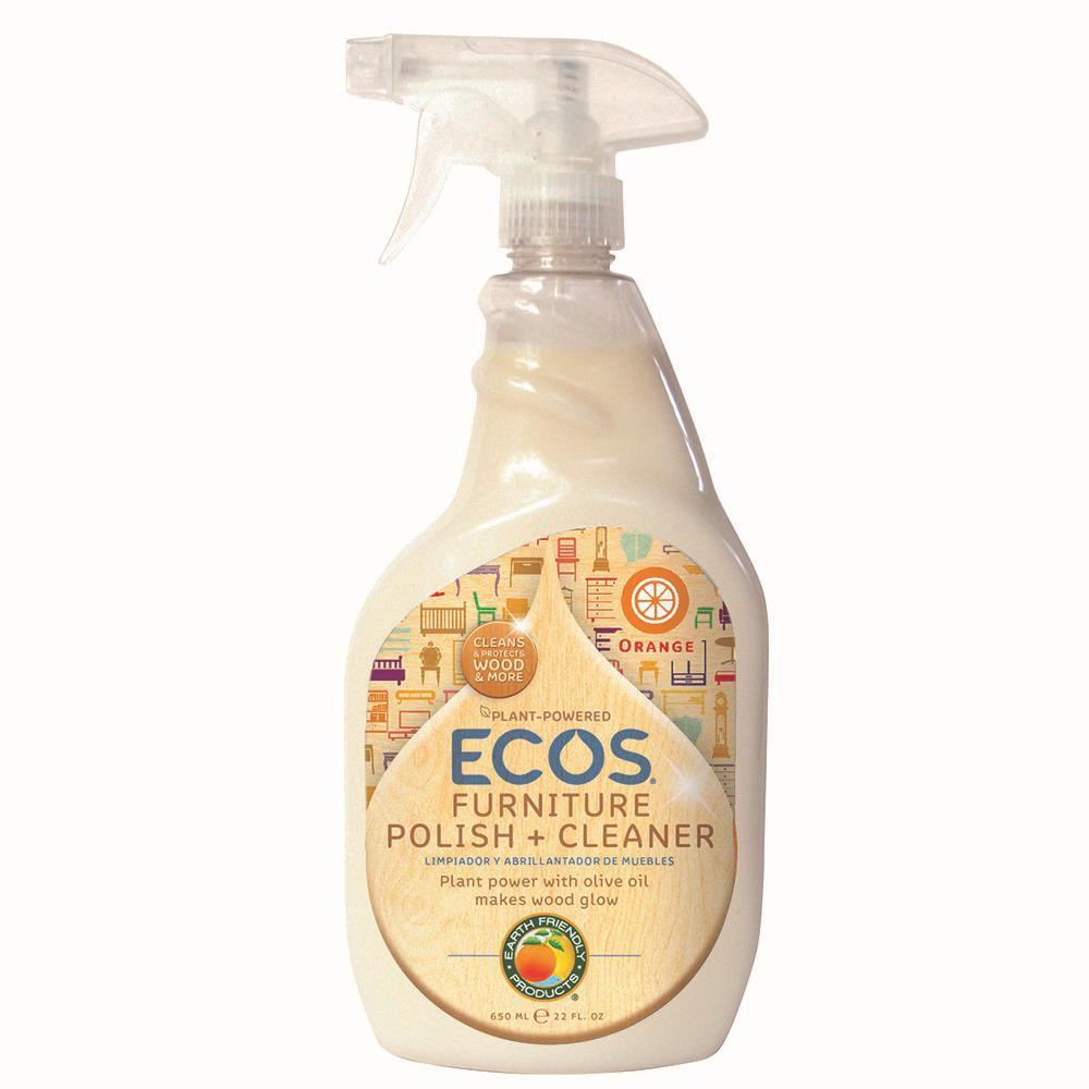 Ecos 22 Oz Trigger Spray Furniture Polish With Olive Oil 97316