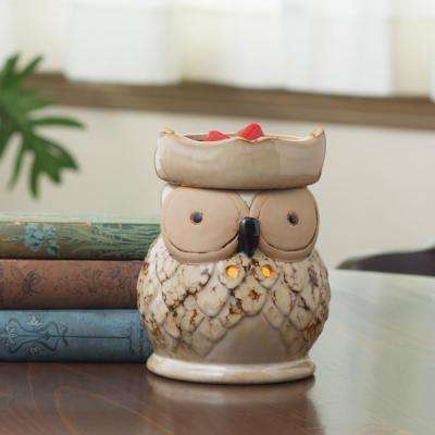 8.8 in Owl Illumination Fragrance Warmer