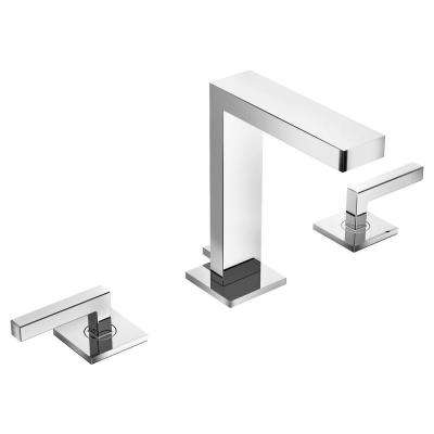 Duro 8 in. Widespread 2-Handle Bathroom Faucet in Chrome