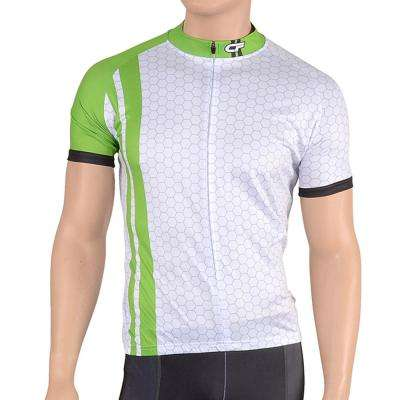 Triumph Men's Large Lime Green Cycling Jersey