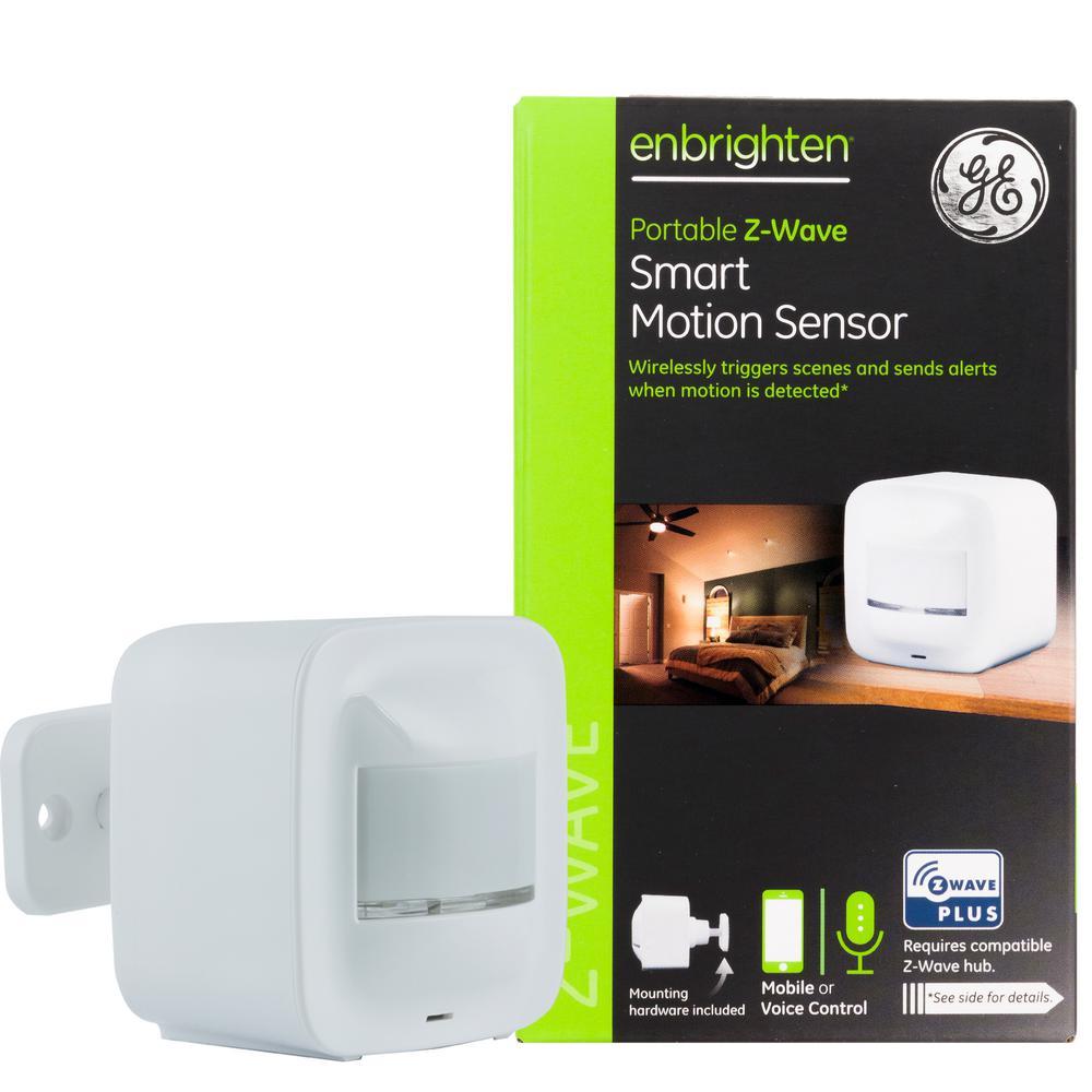 Enbrighten Z-Wave Plus Portable Smart Motion Sensor