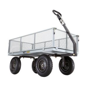 Click here to buy Gorilla Carts 1,000 lb. Heavy-Duty Steel Utility Cart by Gorilla Carts.