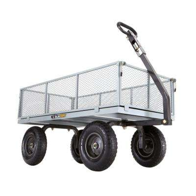 1,000 lb. Heavy-Duty Steel Utility Cart