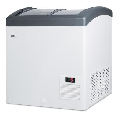 5.7 cu. ft. Manual Defrost Commercial Chest Freezer in White