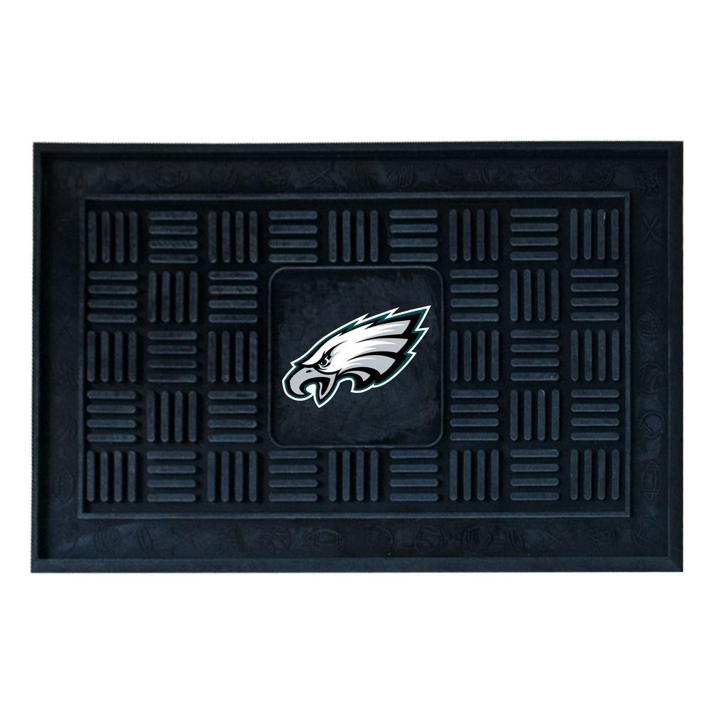 FANMATS Philadelphia Eagles 18 in. x 30 in. Door Mat