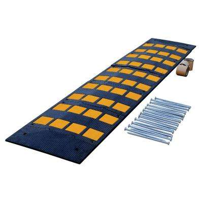 23.5 in. x 108 in. x 2 in. Deluxe Rubber Speed Hump with Asphalt Kit
