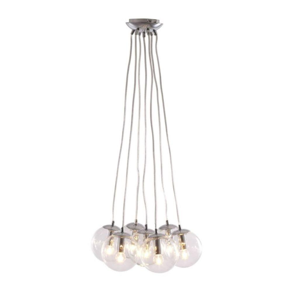 ZUO Decadence 7-Light Clear Ceiling Pendant-50081