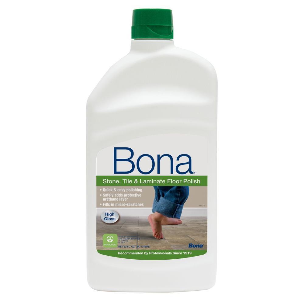 Bona 32 Oz High Gloss Stone Tile And Laminate Floor