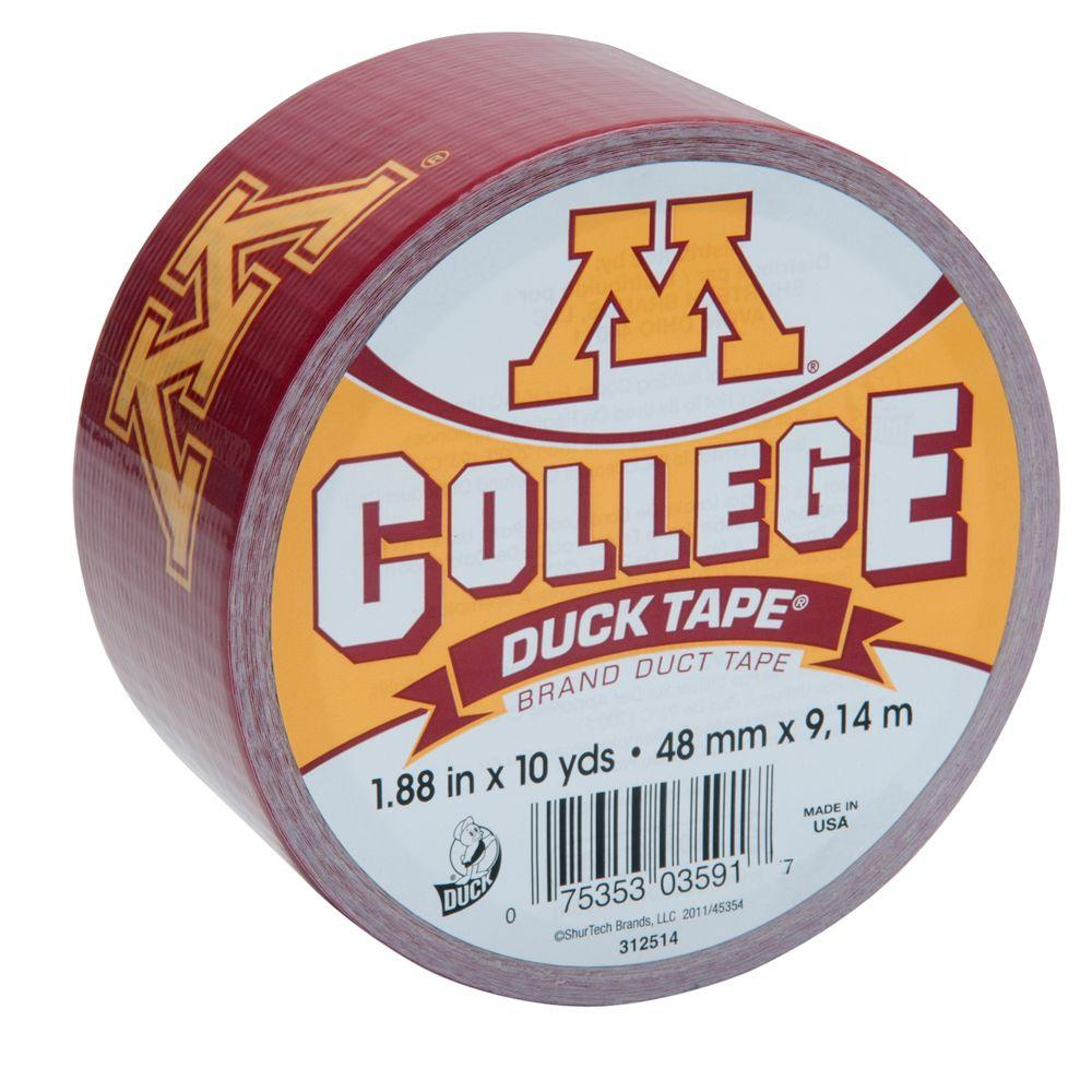 Duck College 1-7/8 in. x 10 yds. University of Minnesota Duct Tape