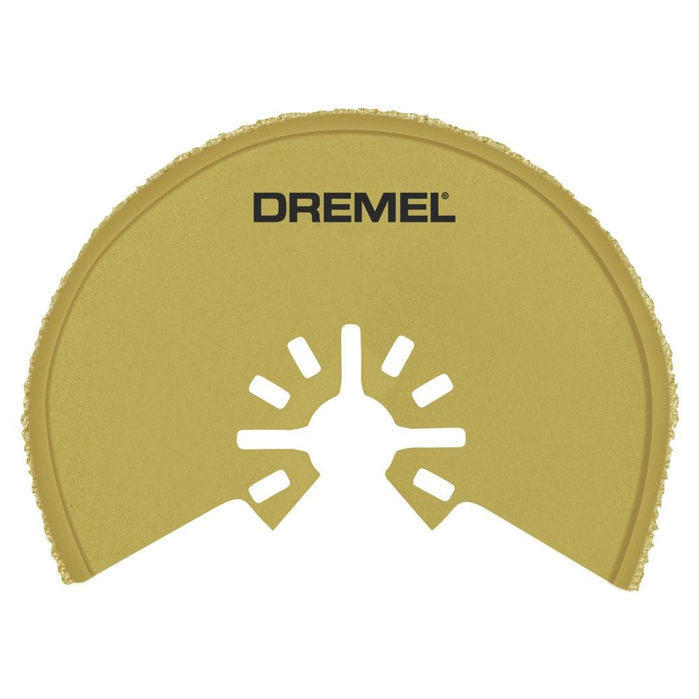 Dremel Multi-Max 1/16 in. Grout Removal Oscillating Tool ...