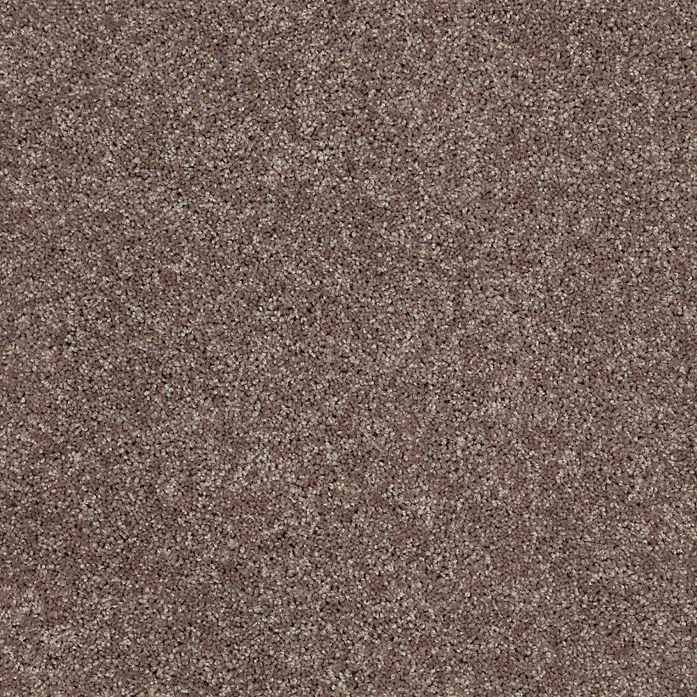 Trafficmaster Carpet Sample Palmdale Ii 12 In Color Soft Leather 8 In X 8 In Sh 490941 The Home Depot