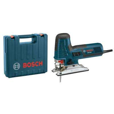 7.2 Amp Corded Variable Speed Barrel-Grip Jig Saw Kit with Assorted T-Shank Blades and Carrying Case
