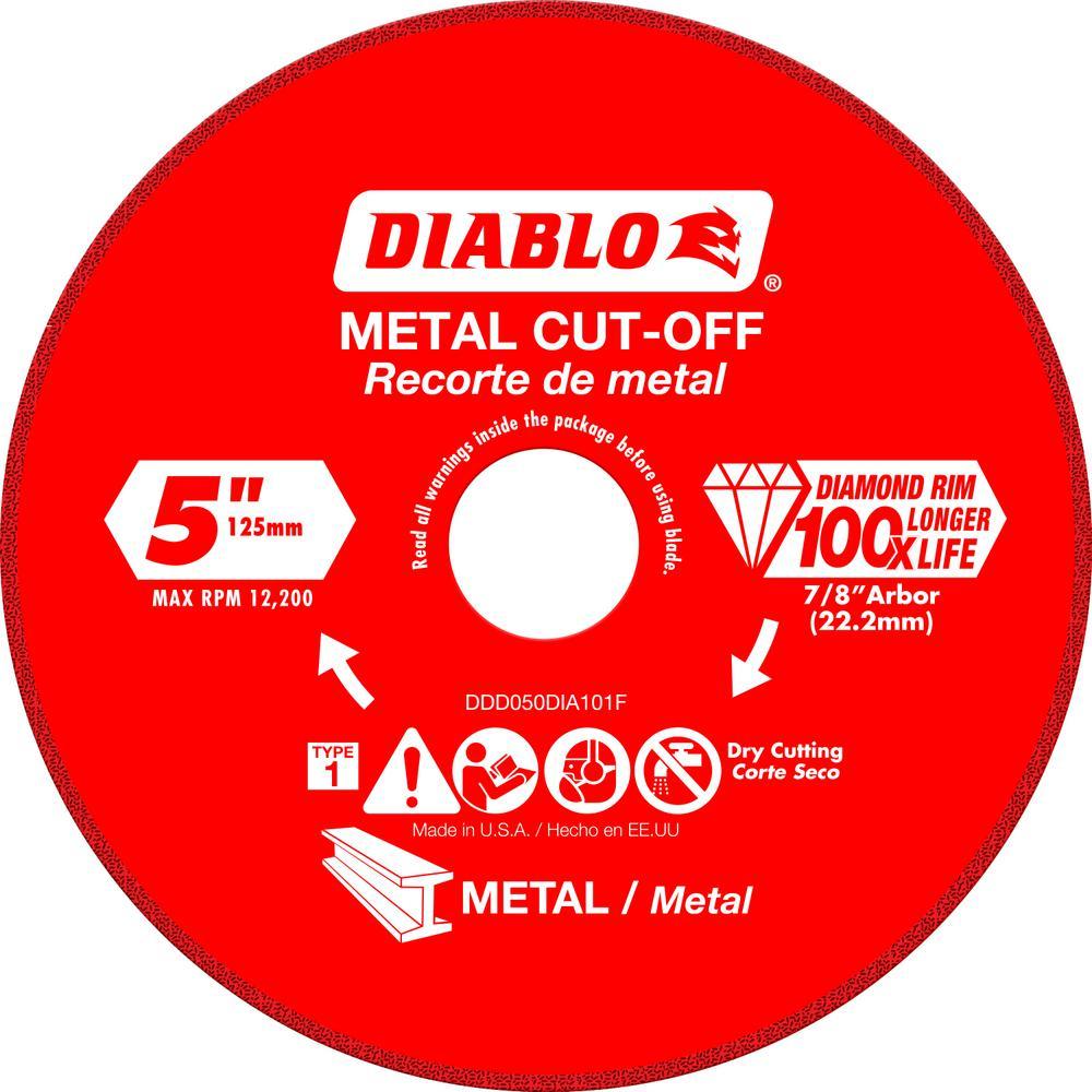 5 in. Diamond Wheel for Metal Cutting