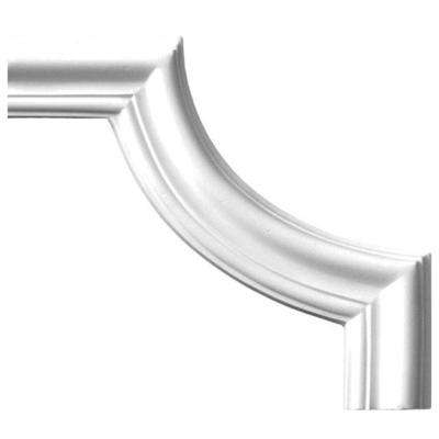 1 in. x 7-3/8 in. x 7-3/8 in. Plain Polyurethane Panel Moulding