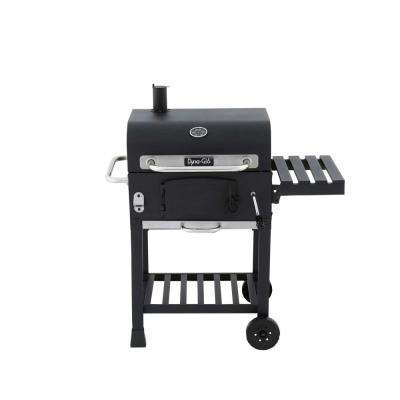 Compact Charcoal Grill in Black