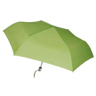 41 in. Arc Tiny Mini Auto Open and Close Umbrella in Leaf
