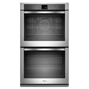 Attractive Double Electric Wall Oven Self Cleaning With Convection In Stainless  Steel WOD93EC0AS   The Home Depot