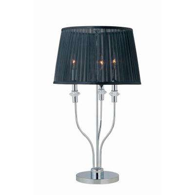 28.5 in. Chrome Table Lamp