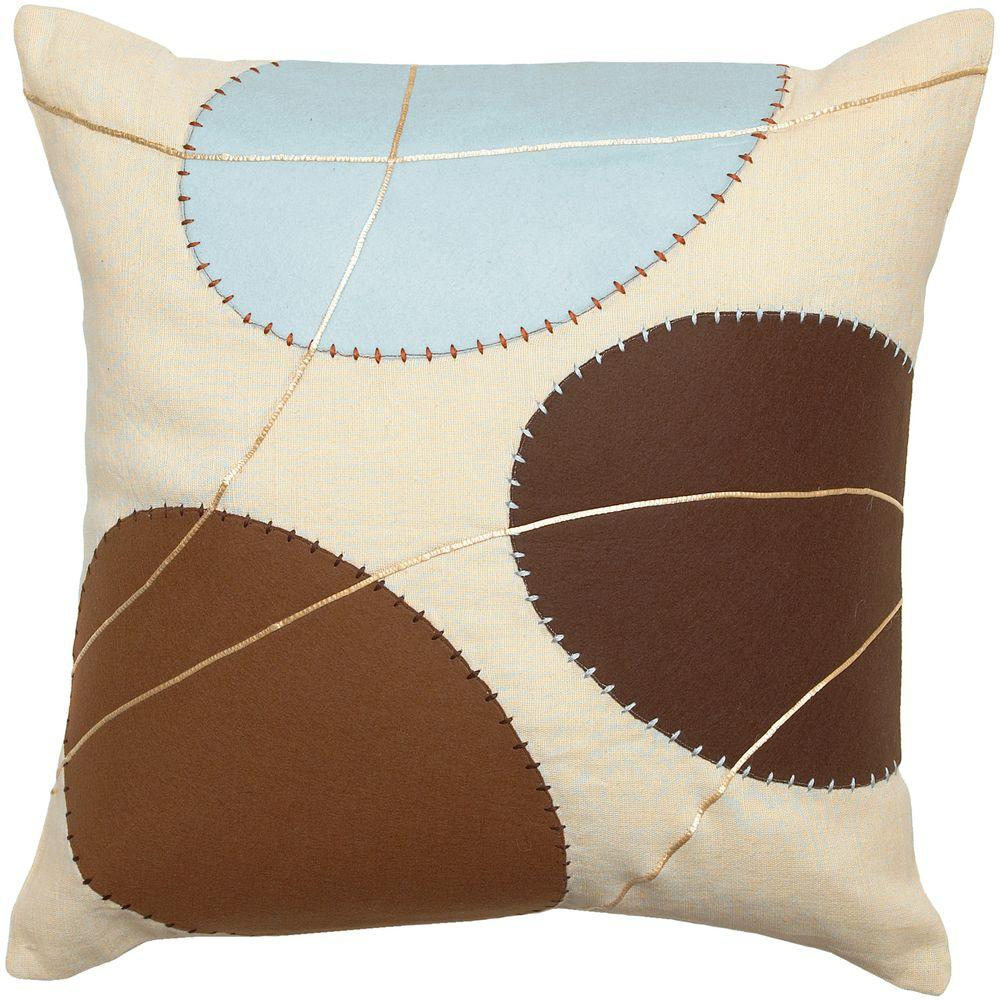 Artistic Weavers GeometricB2 18 in. x 18 in. Decorative Pillow