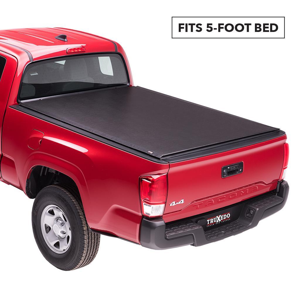 Truxedo Lo Pro 05 15 Toyota Tacoma 5 Ft Bed Tonneau Cover 555901 The Home Depot