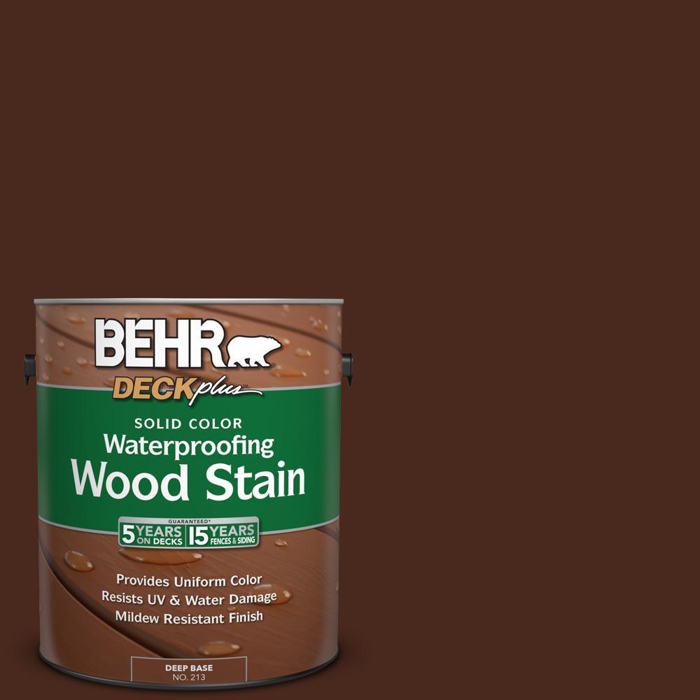 Behr deckplus 1 gal sc 117 russet solid color waterproofing wood behr deckplus 1 gal sc 117 russet solid color waterproofing wood stain 21301 the home depot geenschuldenfo Gallery