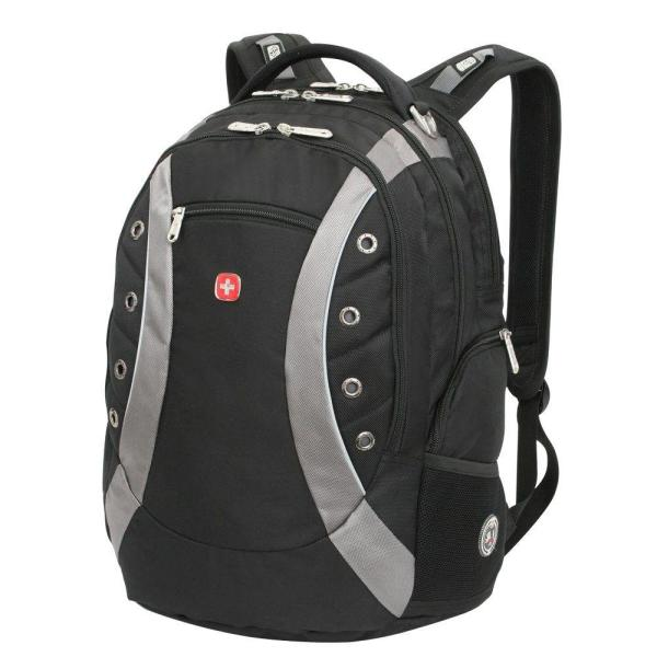 1e0a3e585b1b SWISSGEAR Black Laptop Backpack 11912215 - The Home Depot