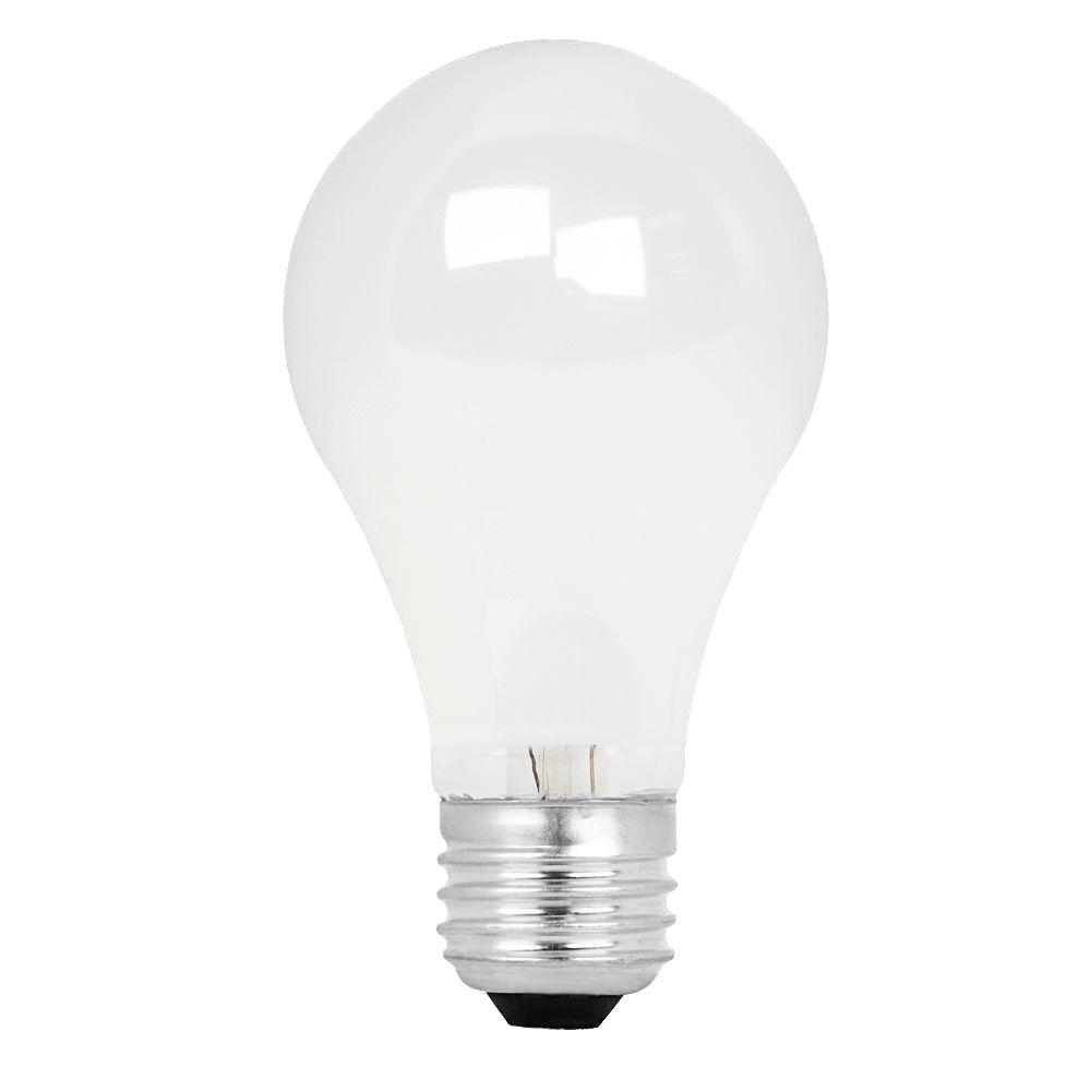 Feit Electric Energy Saving 100W Equivalent Halogen A19 White Light Bulb (48-Pack)-DISCONTINUED