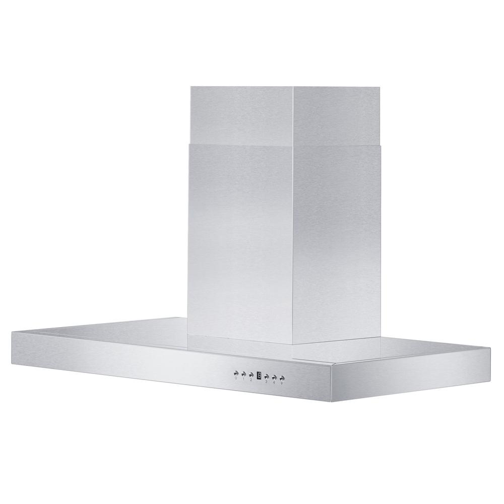 Zline Kitchen And Bath Zline 42 In. 760 Cfm Wall Mount Range Hood In Stainless Steel, Brushed 430 Stainless Steel