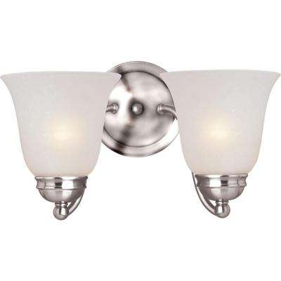 Basix 2-Light Polished Chrome Sconce