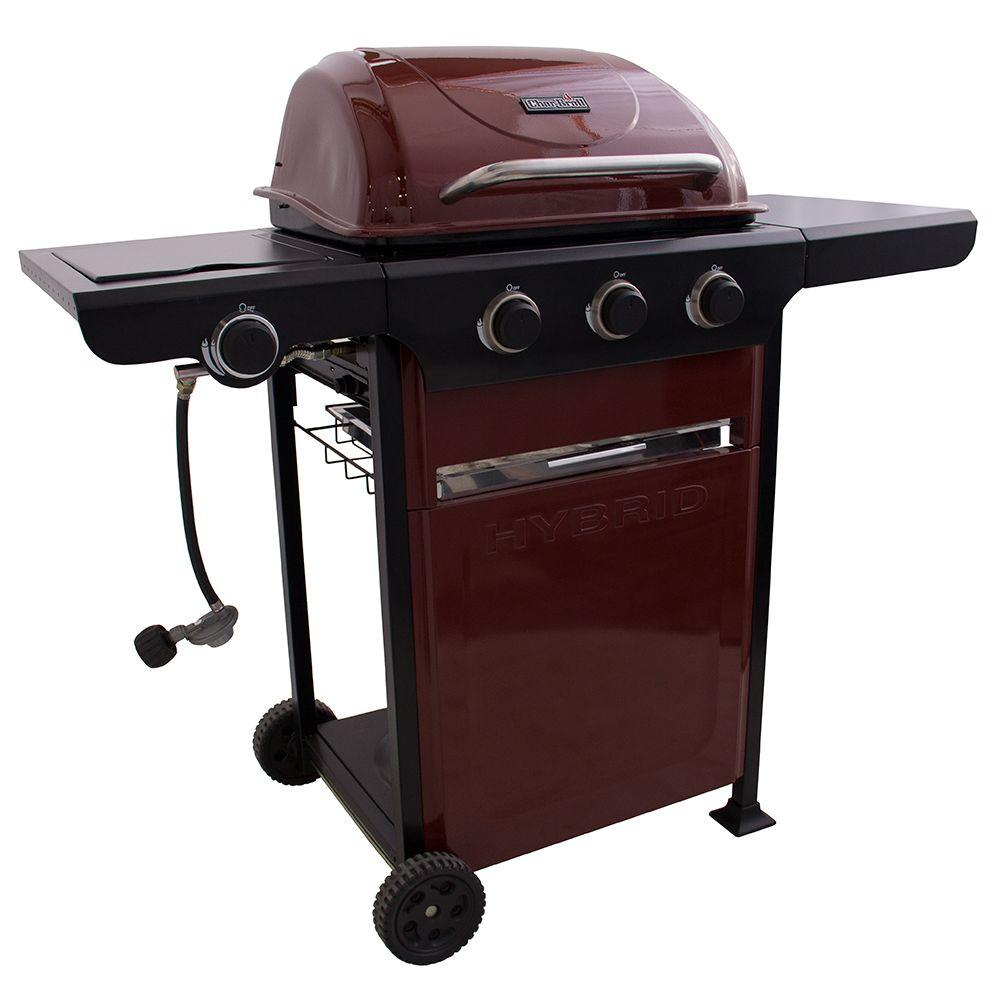 CharBroil Char-Broil 2-in-1 Hybrid Propane Gas/Charcoal Grill