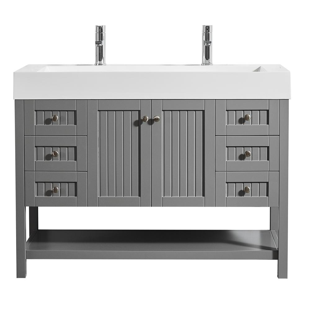 Unique 48 Bathroom Vanity Exterior
