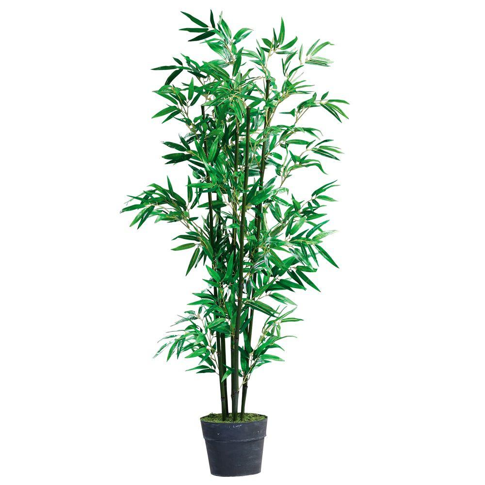 Home Decorators Collection 39 in. H Bamboo Topiary with Tin Base