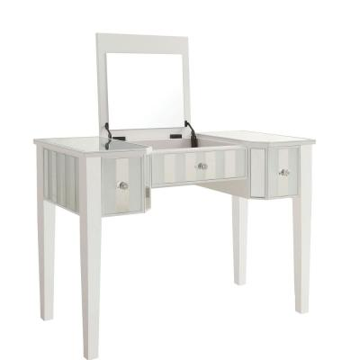 Stevens 2-Piece White Vanity Set