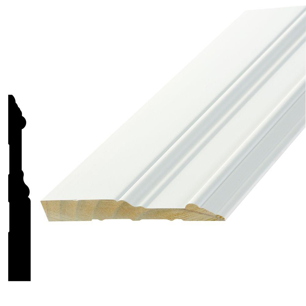 WP 5709 5/8 in. x 5-1/4 in. x 96 in. Primed