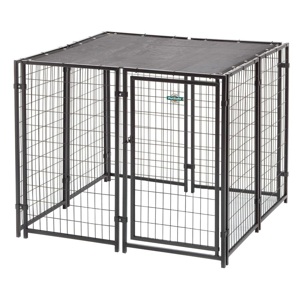 fencemaster cottageview 5 ft x 5 ft x 4 ft boxed kennel. Black Bedroom Furniture Sets. Home Design Ideas