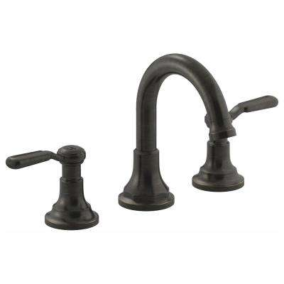 Worth 8 In Widespread 2 Handle Bathroom Faucet Oil Rubbed Bronze